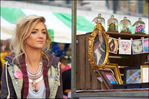 Artist, market stall