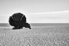 """""""Scallop"""", Aldeburgh, Suffolk, England"""