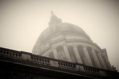 Council House, November mist